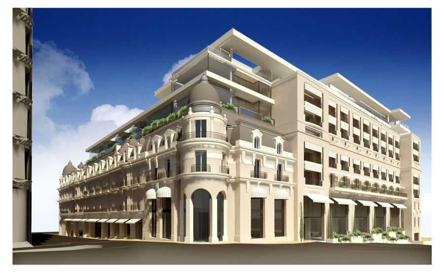 Le sommer environnement for Hotel monaco decor